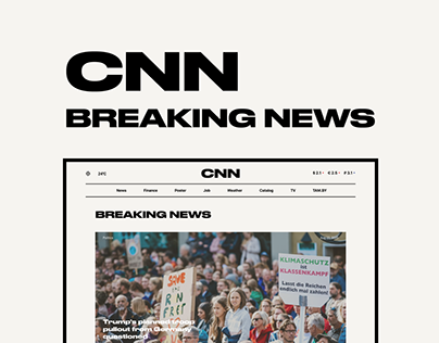 CNN NEWS — Redesigne