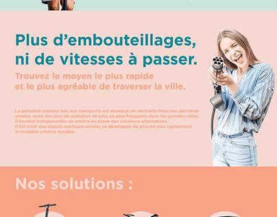 Mobil' Webdesign