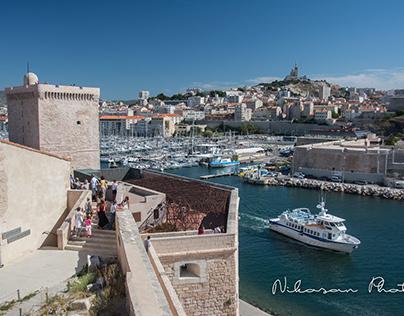 Marseille's Postcards
