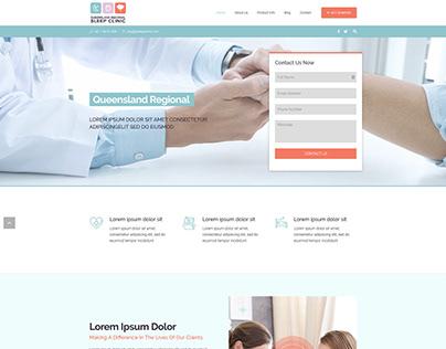 Queensland Clinic Website Template