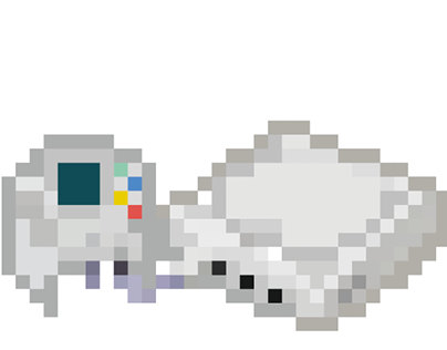 Susan Kare Inspired 36x36 Game Console Pixel Icons