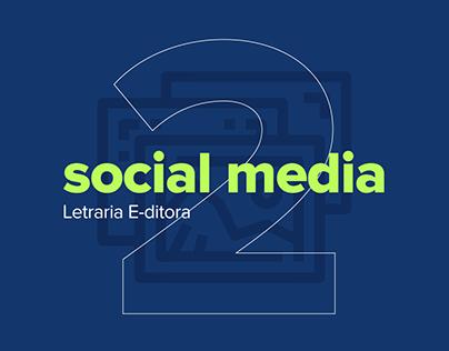Social media 2   Letraria E-ditora