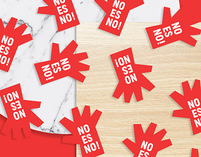 No Es No! Branding/Campaign