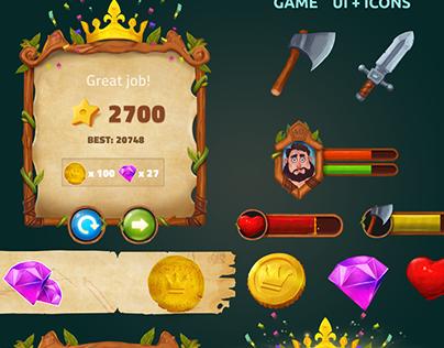 Game UI + ICONS