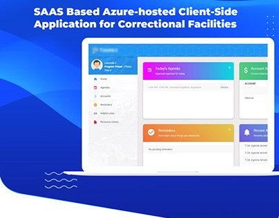 SAAS Based Azure-hosted Client-Side Application for Cor