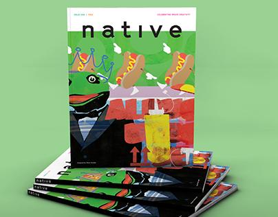 Native Magazine cover