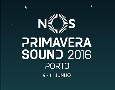 Line-Up NOS Primavera Sound 2016