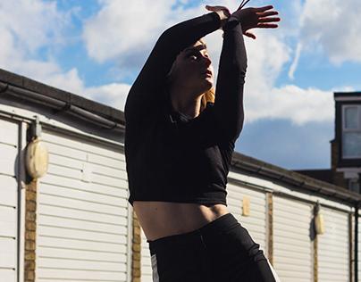 Leah dancing