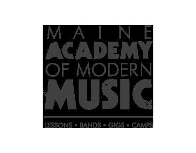 Maine Academy of Modern Music Branding