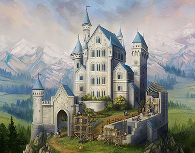 Castles of Mad King Ludwig - box cover