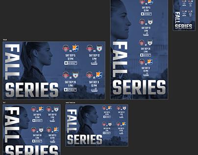 2020 Fall Series schedule