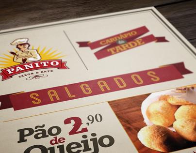 Panito Café Menus