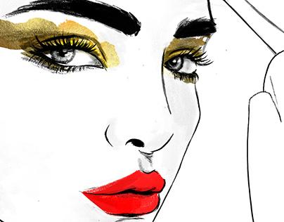 Makeup Ilustration