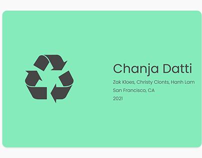 Chanja Datti - UX Design Case Study