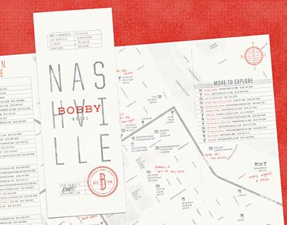 Bobby Hotel Map of Nashville