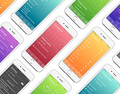 Promotional website & mobile app design