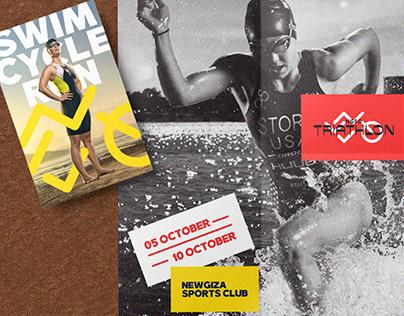 NGSC Triathlon - Sport Event Branding