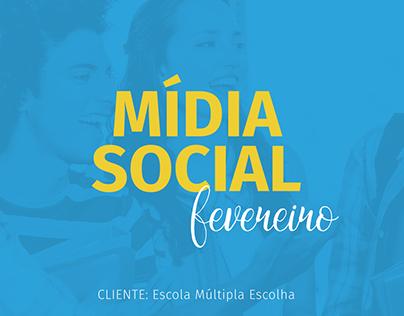 Mídia Social - Múltipla Escolha