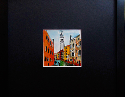 Venetian White Tower--SOLD