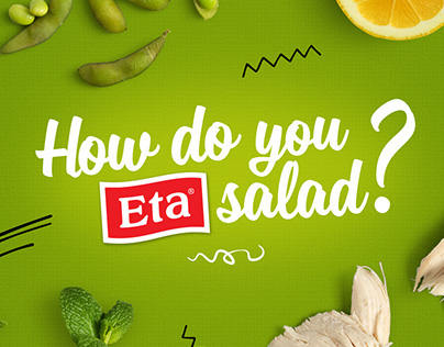 How do you Eta salad?