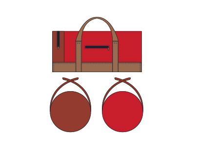 Duffel Bag Sketch
