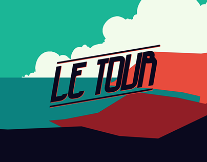 Le Tour - Racing Animation