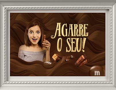 Display Mars Chocolates