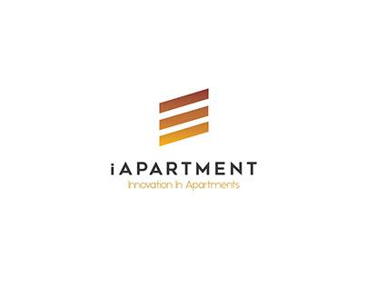 Mountain View - iApartment Logo Identity
