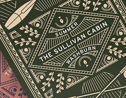 Sullivan Cabin Seasonal Playing Cards