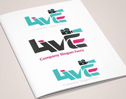 Logo, eye, branding, professional, solid, simple, color