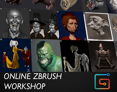 Online ZBrush course