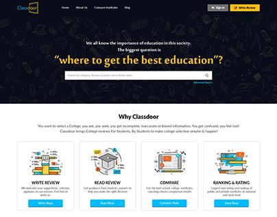 Classdoor - India's first website dedicated to entire