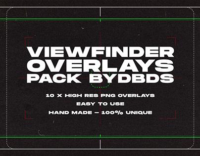 Viewfinder Overlay Pack — byDBDS®