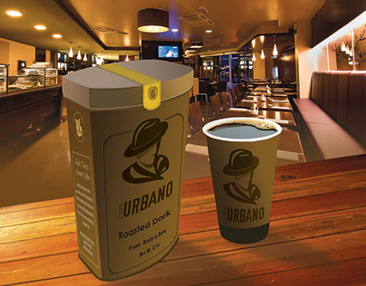 Cafe urbano Logo and Packaging Design