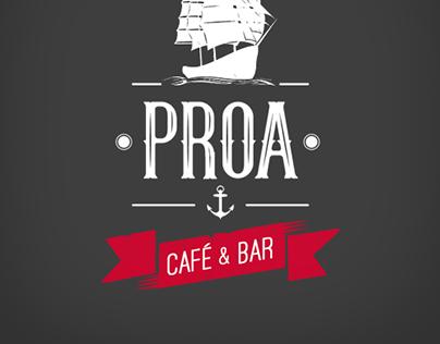 Isologo para Bar Proa