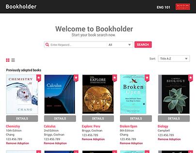 VST Bookholder