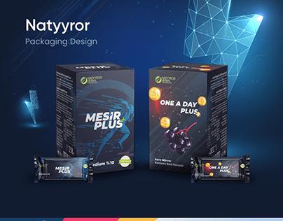 Natyyror Packaging Design