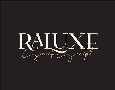 Raluxe Typeface