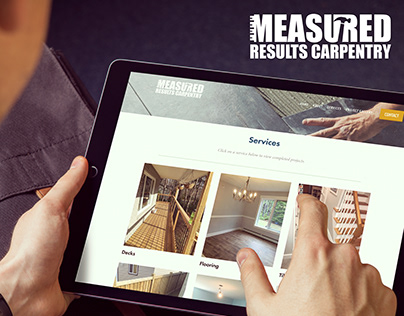 Measured Results Carpentry Website