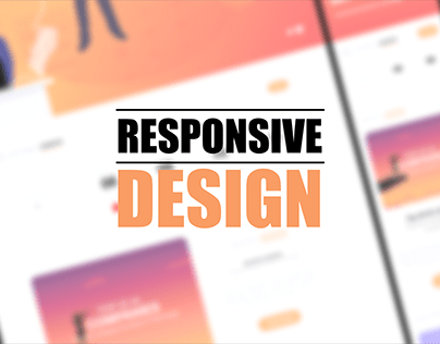 Responsive design(web/mobile)