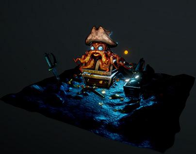 3D | Ollie the Octopus