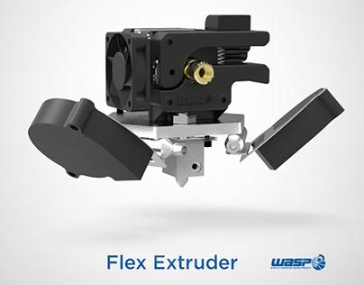 Flex extruder