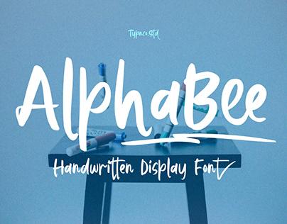 AlphaBee - Free Display Font