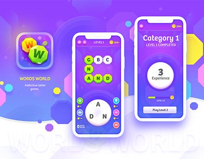 Words World IOS Game Design