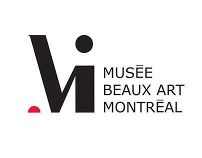 Musée Beaux Art Montréal - Charte graphique