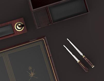 Luxury Desktop Accessories