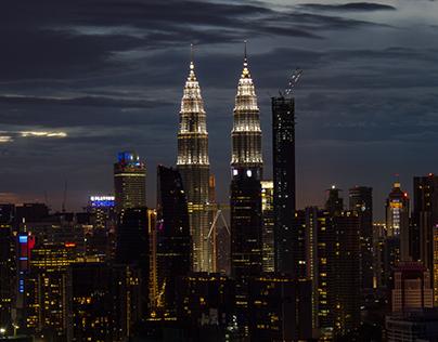 Kuala Lumpur (Malaysia) Sunset Landscape
