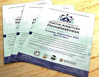 Forum Flyer: LA County Department of Mental Health
