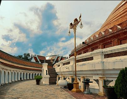 Phra Pathommachedi Temple, Nakhon Pathom