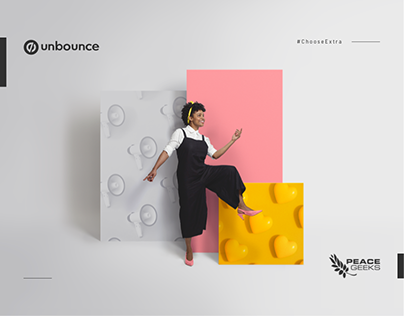 Unbounce Brand Campaign: ChooseExtra